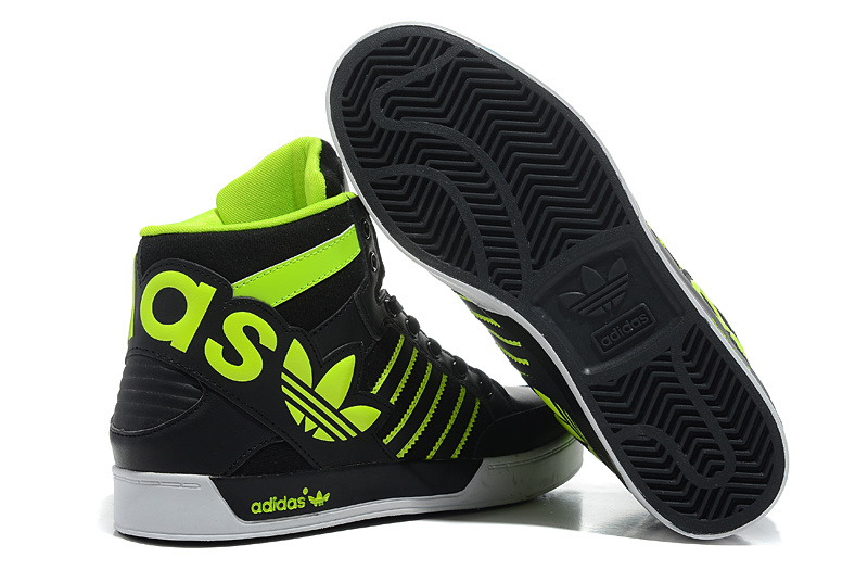 Adidas-Originals-City-Love-3-Generations-High-Top-Shoes-Men-Black-Green-Specials-new-style-202