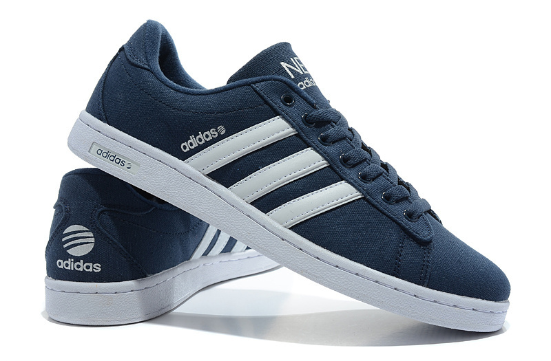 Cheapest-For-Us-Adidas-Originals-Campus-Neo-Canvas-Casual-Shoes-Men-Deep-Blue-White-589